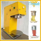 Tisch-Spitzenverwendete italienische Isolationsschlauch-Nudel-Eiscreme-Handelsmaschine des Edelstahl-304 für Verkauf