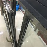 Tissu pour rideaux de double vitrage de type multi d'ouverture et guichet en aluminium de tente