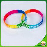 Gute Qualitätssilikon-GummiWristband mit kundenspezifischem Firmenzeichen