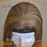 Colore marrone chiaro nessuna parrucca delle donne della frangia (PPG-l-01669)