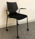 ANSI/BIFMA 표준 쌓을수 있는 플라스틱 사무실 의자
