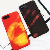 Caisse molle de téléphone de décoloration physique thermique de détecteur pour l'iPhone X 6 7 7 8 positifs
