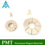 N30uh Permanente Magneet met het Magnetische Materiaal van het Neodymium voor Brushless Motor
