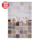 Color gris claro de diseño de hormigón pulido completo cuarto de baño baldosas de pared de cristal