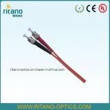 高品質の光ファイバ10g 50/125 Om3さまざまなコネクターのタイプが付いているマルチモードパッチケーブル