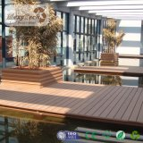 Engineered Wood Flooring deck composto oco do piso de madeira