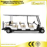 coche de visita turístico de excursión eléctrico del motor de la C.C. 48V para la venta
