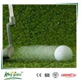 Grama artificial do relvado do mini golfe