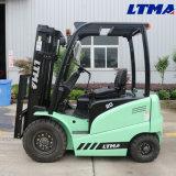 Mini Forklift da bateria Forklift elétrico de 2 toneladas com peças sobresselentes