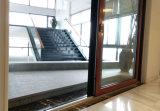 Aluminum-Wood économe en énergie et de la vitre coulissante de porte