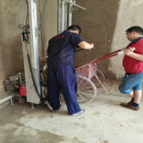 La macchina automatica /Gypsum dell'intonaco del cemento della parete Tupo-8 rende la macchina nel prezzo poco costoso