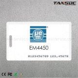 Tansoc RFIDのクラムシェルのカード1.8mmの厚さの無接触のスマートカード