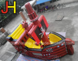 膨脹可能な海賊船、販売のための膨脹可能な弾力がある城のスライド