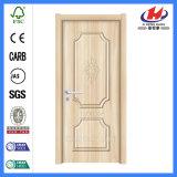 Puerta bonita laminada hoja plástica del PVC de la puerta de la puerta