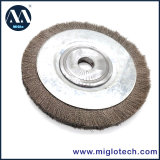 Escova frisada da roda do fio da escova de fio de aço por Miglotech
