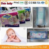 Pannolino sonnolento molle all'ingrosso del bambino di Disposablel in tutti i formati con l'alta qualità