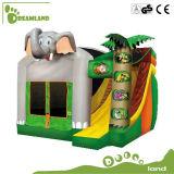 Profissional de grandes dimensões Bouncer insufláveis escorrega para as crianças