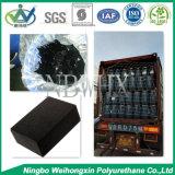 Pâte de couleur de noir de gicleur pour des produits de polyuréthane