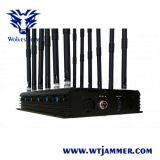 12-Band G/M DCS Rebolabile 3G 4G WiFi GPS HF hört Hemmer ab (von 130 bis 500 MHZ)