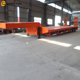Reboque de Lowbed, tri do eixo de Lowboy reboque Semi
