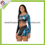 Zoll sublimierte Cheerleading-Uniform-Breathable Praxis-Abnützung-Strumpfhosen