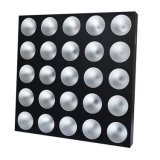 25*30W RGBW farbenreiches Stadiums-Matrix-Licht des Publikums-Blinder-LED