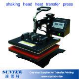 平らな原料のTシャツのためのヘッド熱伝達の出版物機械の動揺