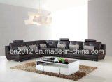 Sofa européen de Leathr de sofa de type de sofa en cristal (SBO-9160)