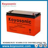 Batterie libre de maintenance de batterie de gel de la longue vie 12V 33ah
