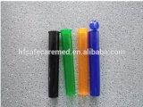 プラスチック子供の抵抗力がある管の接合箇所のガラスびん、ヒンジのふたのシガーのDoobの管