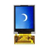 1.77インチTFT LCDスクリーン、単一チップドライバーLCD表示画面を溶接するSpiインターフェイス14Pin