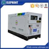 Dieselmotor de Met geringe geluidssterkte van de Generator 28kw 34kVA van China Isuzu