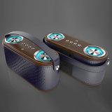 Una buena calidad altavoz Bluetooth inalámbrico portátil con luz azul intermitente el ritmo de música