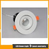 La MAZORCA del CREE LED 12W abajo se enciende con la garantía 5years