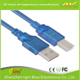 cabo do USB 2.0 de 6FT um macho ao macho de B