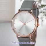Produtos OEM personalizados Senhoras Quartz Relógios sabia, Senhora vele liga (WY-17042)
