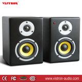 Drahtloses kreatives Bezugsmultimedia-Studio-Monitor-Lautsprecher 80watts Effektivwert-Schwarzes (Paare)