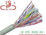 Cable de teléfono 10pair, 20pair, 50pair, cable de teléfono 100pair