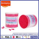 Сделано в пробирках хлопка ручки Китая цветастых пластичных