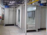 Cabine de pulverizador eletrostática do revestimento do pó do multi ciclone