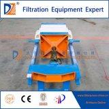 Imprensa de filtro manualmente Recessed da placa para a água de esgoto da mineração