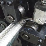 Edelstahl-Streifen-Wundabgas-Rohr, das Maschine herstellt
