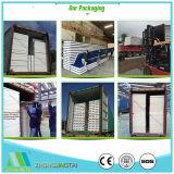 Materiales metálicos de acero de lana de roca/Glasswool EPS/Panel de pared tipo sándwich para almacén/almacenamiento/Casa prefabricados