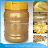 Glimmer-Goldperlen-Pigment-Puder, goldenes Glanz-Perlen-Pigment