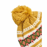 Зимние Red Hat трикотажные Red Hat Beanie POM POM Red Hat Жаккард Beanie Red Hat