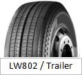 LANWOO Marke ermüdet Schlussteilmuster TBR LKW-Reifen (Muster LW802)