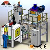 4 het Uithameren van het Schot van de as Auto Robotachtige Machine
