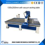 CNC Machine van het Werk van de Router de Houten met 1300X2500mm voor Houten AcrylMetaal Alumnium