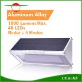 Éclairage solaire Capteur de mouvement sans fil IP65 montage externe) Wall Lamp
