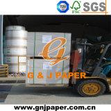 papier duplex enduit de côté simple de taille de 250GSM 700*1000mm pour la couverture